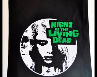 Night of the Living Dead Totebag - Horror classic zombie movie