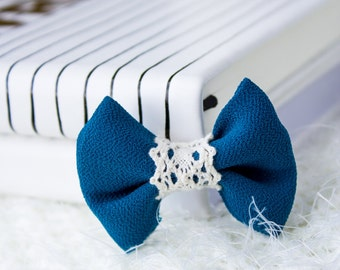 lace bow hair accessory, special occasion hair accesory ,girls hair bow,