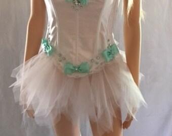 size lg-xl corset and skirt set