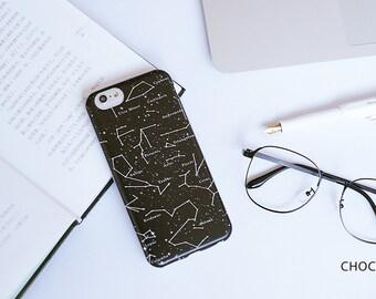 Hand Painted iPhone 6s plus case - Constellation- Choco5Design