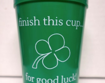 St Patrick's Day Party Decor Cups