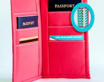 leather passport holder pattern pdf