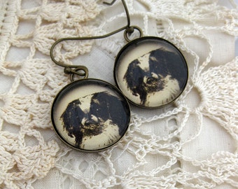 Japanese Chin Dog Earrings