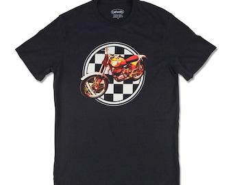 Bultaco Sherpa T Motorcycle Tee-shirt, Motorcycle T-shirt, motorcycle gifts, motorhead, moto t shirt, biker t shirt, motorcycle clothing
