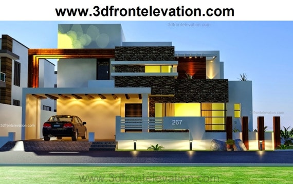 Front Elevation Of Houses In Australia : House front elevations d drawings joy studio design