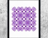 Purple Abstract Art, Modern Printable Art, Minimalist Art, Wall Art Print, Geometric Art Print, Poster, Digital Download, Instant Download
