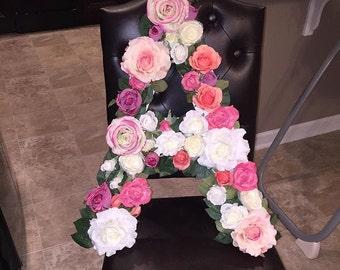 Floral Alphabet Letters