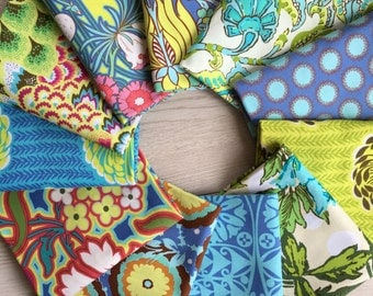 5.5 yd total Soul Blossoms Cap3 Bliss by Amy Butler - 11 pieces @ 1/2 yard each