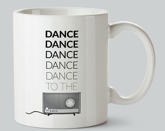 Joy Division - Transmission Coffee Mug - New Order - Ian Curtis - Manchester - Factory Records - Typography - Modern