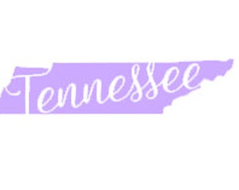 Tennessee State Decal