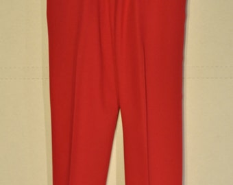 Womens Red Pants