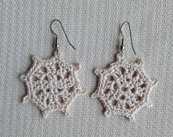 "Instant download - Crochet PATTERN (pdf file) – Jewelry - Crochet Earing Design""Take the Helm"""