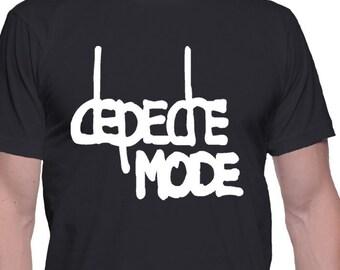 Depeche Mode  Men T-shirt Depeche Mode  Shirt Rock T-shirt Punk Rock  Shirt Pop, New Wave, Industrial Rock, Alternative Rock