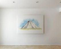 El Castillo - Canvas decor