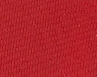 Tomato Red Grosgrain Ribbon    (05-##-S-174)