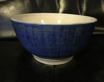 Hand thrown stoneware bowl