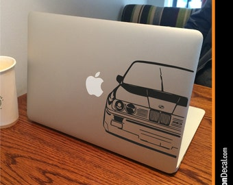 """BMW E30 M3 Apple MacBook Decal Sticker fits 11"""" 13"""" 15"""" and 17"""" models"""