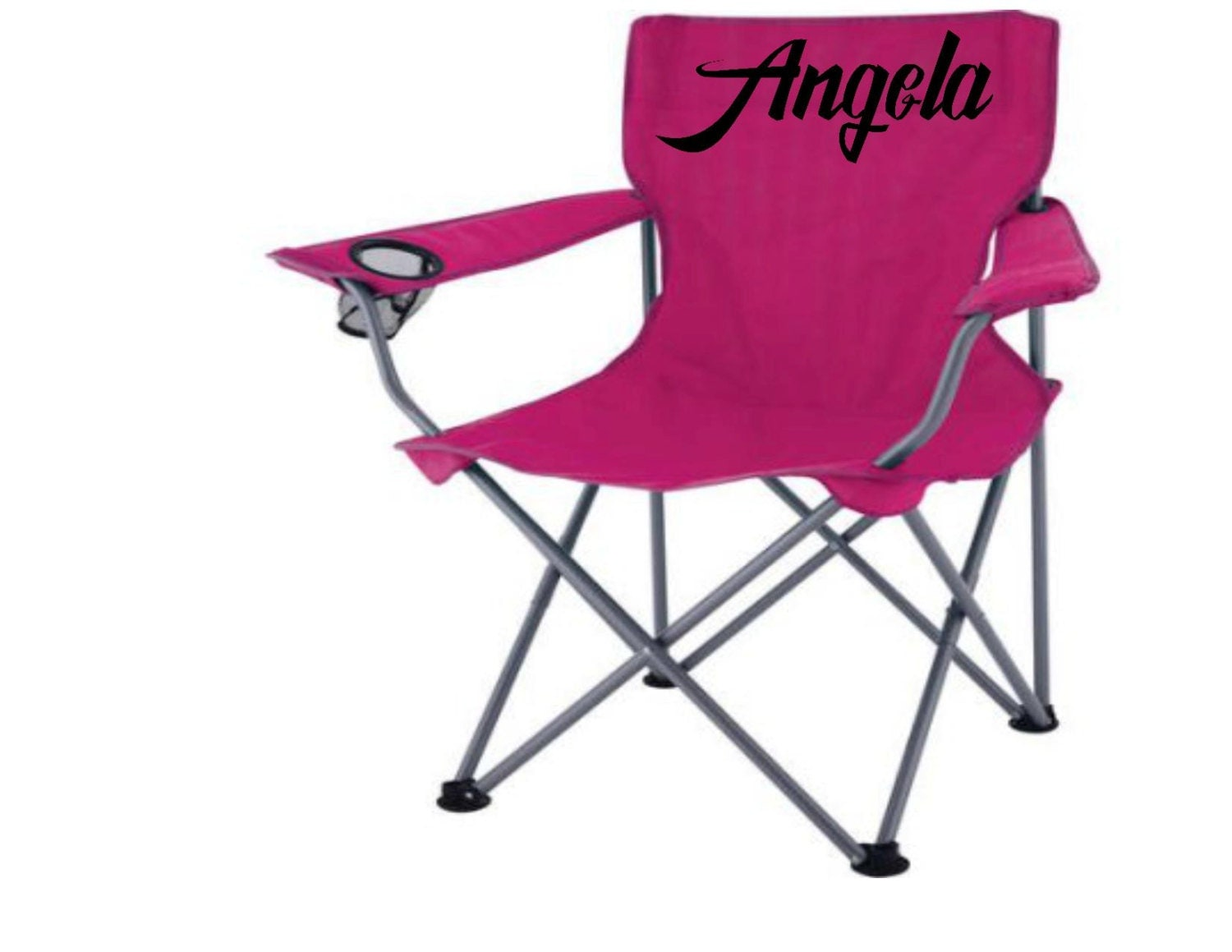 Custom folding chairs Monograms and sport designs Beach