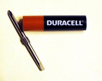 "Duracell ""Advertising"" Miniature Adjustable Screwdriver"