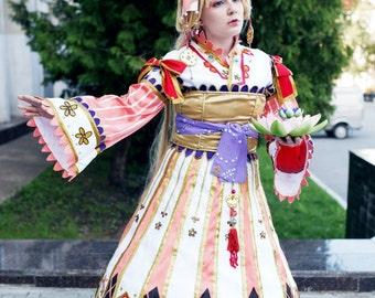 "Manga Anime Cosplay Dress Costume Novel ""Tengai no Pashluna"" - arts Shibamoto Thores - Vaira"