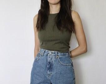 Vintage High Waist Denim Shorts | Calvin Klein Denim Shorts | Denim Shorts | XS