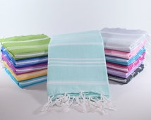 Mint Green Baby Towel | Turkish Hand Towel | Head Towel | Kitchen Napkin | Mint Tea Towel | Mint Turkish Towel | Kitchen Towel
