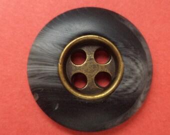 10 buttons 21mm dark grey grey (2099)