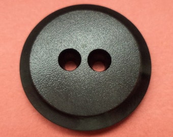 10 buttons 20mm black (1650) button