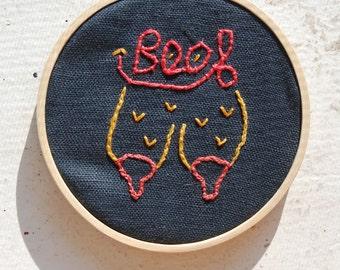 Boob Embroidery
