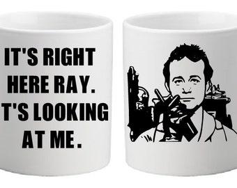 Ghostbusters Peter Venkman 11oz coffee mug