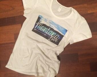 Montana it is Love Shirt