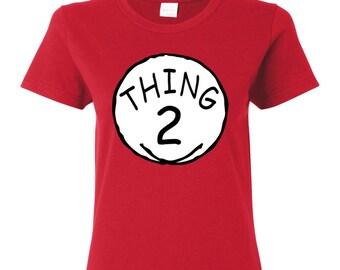 THING 2 WOMAN'S T-SHIRT
