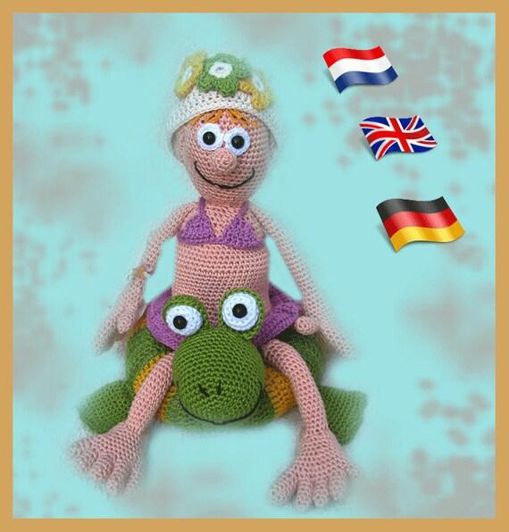 Stitch Amigurumi Doll Pattern : Amigurumi doll crochet pattern crocheted dolls pattern