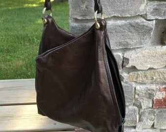 Brown Soft Leather Purse
