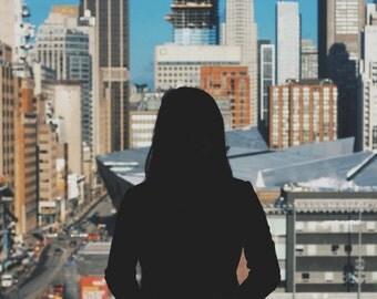 Bloor Street Silhouette - Print
