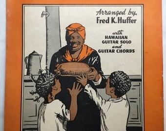 1939 Black Americana Sheet Music - Short'nin' Bread by Fred K. Huffer