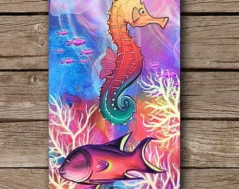 Underwater Worlds iPhone Case iPhone 4 iPhone 5/5S Case iPhone 6 Case Digital Art Design By Case Mates