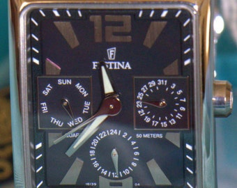 Watch FESTINA for gentleman half price. FESTINA watch for half the price man