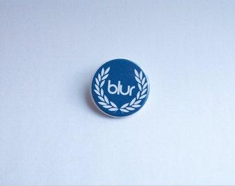 Blur Laurel Pin Badge