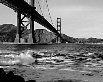 Beach, Golden Gate Bridge