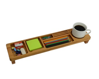 Desk Organizer Wood Desktop Organizer Office & Home Organizer