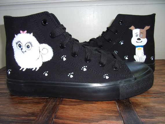 The Secret Life Of Pets, Hand Painted Shoes