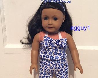 American Girl Romper
