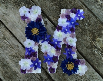 Flower Touched Letter
