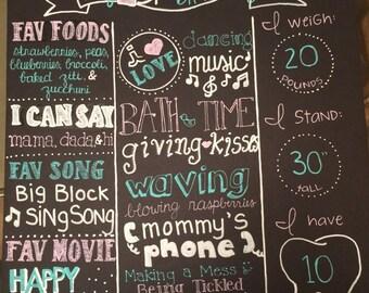 Milestone Birthday Board
