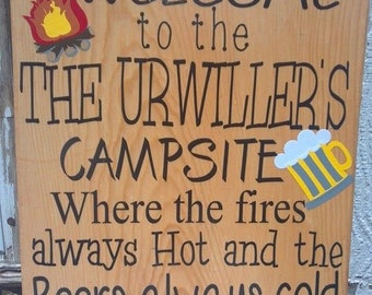 Campfire Sign