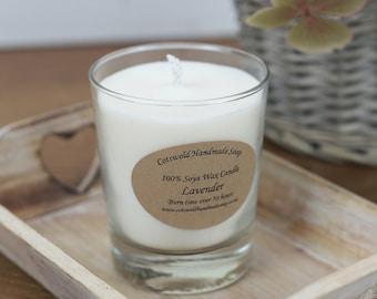 Lavender Soya Wax Candle 190ml