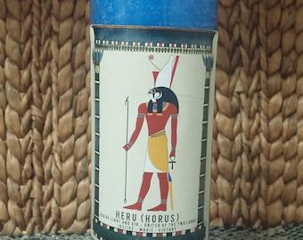 God Heru-sa-Auset (Horus, son of Isis) Candle