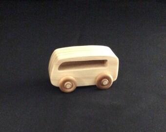 Toy van, wooden toys, wooden van, van