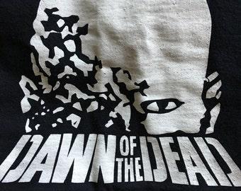 Dawn Of The Dead black x-large tee shirt